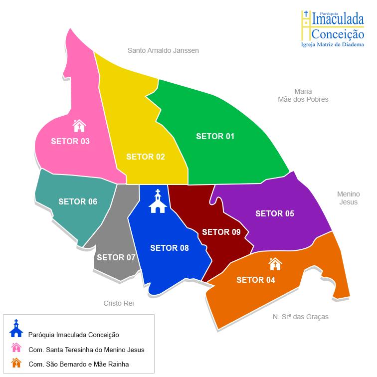 Setores-Mapa